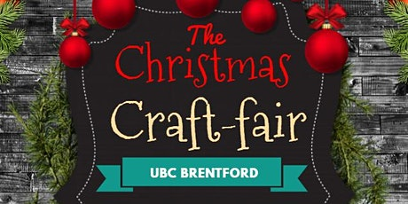 Christmas Craft Fair with FREE Food & Drinks at UBCUK, Brentford tickets