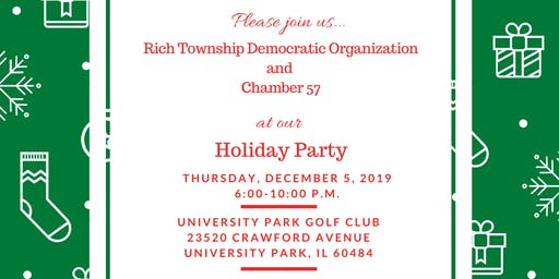 Rich Township Democratic Organization Holiday Party