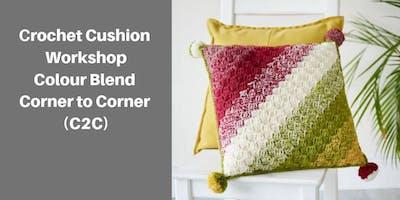 Corner To Corner Crochet Skills Workshop (2 Part Workshop)