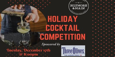 B&M Holiday Cocktail Competition