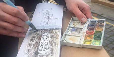 Introduction to sketching with watercolour workshop tickets