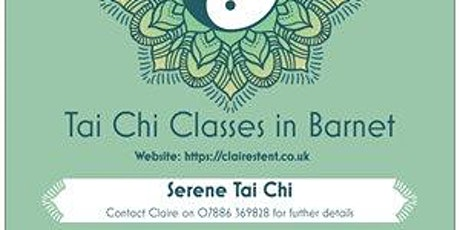 Tai Chi Class starting 7 Jan 2020 - New Barnet tickets