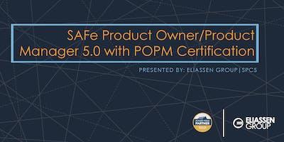 SAFe Product Owner/Product Manager 5.0 with POPM Certification - Hartford - September
