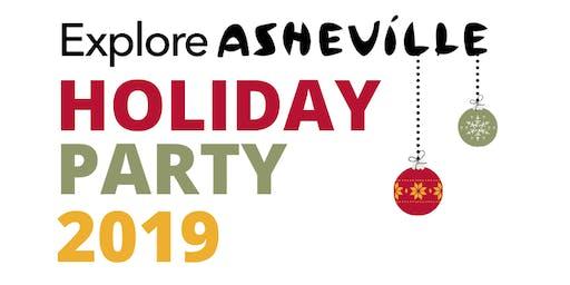 Explore Asheville CVB Annual Holiday Party - December 2019