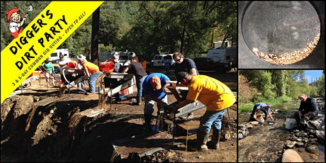Digger's Dirt Party: Gold Mining Common Dig Outing at – Italian Bar, CA tickets