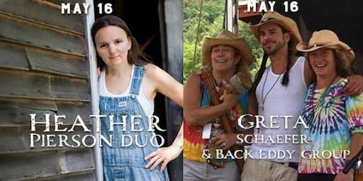Heather Pierson Trio and Back Eddy with Greta Schaefer