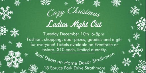 Cozy Christmas Ladies' Night Out