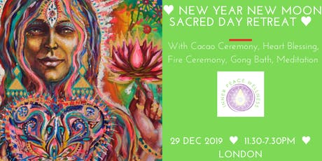 New Year New Moon Sacred Day Retreat: Open your Heart tickets