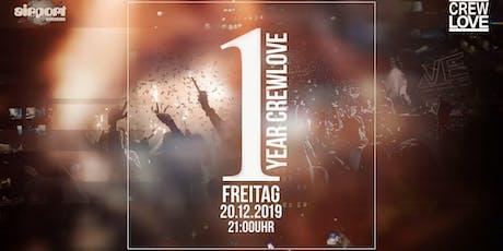 1 Year CrewLove I Würzburg Tickets
