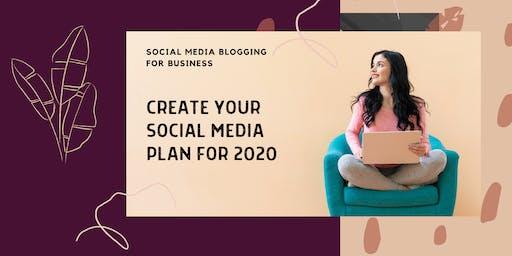 Create Your Social Media Plan for 2020