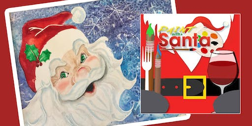 Paint with Santa Claus