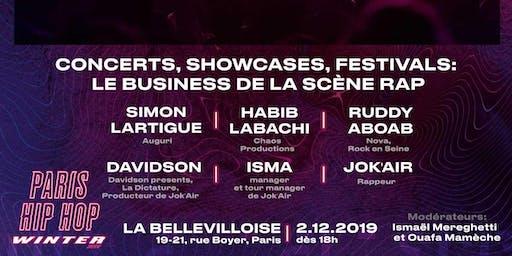 Concerts, showcases, festivals : le business de la scène rap