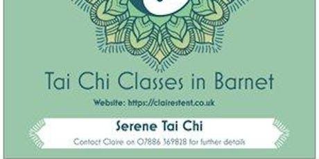 Tai Chi Class starting 9 Jan 2020 - New Barnet tickets