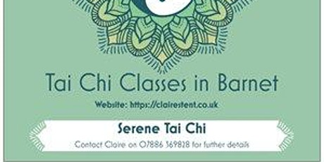 Tai Chi Class starting 9 Jan 2020 - New Barnet tickets