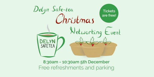 Delyn Safe-tea Christmas Networking Event