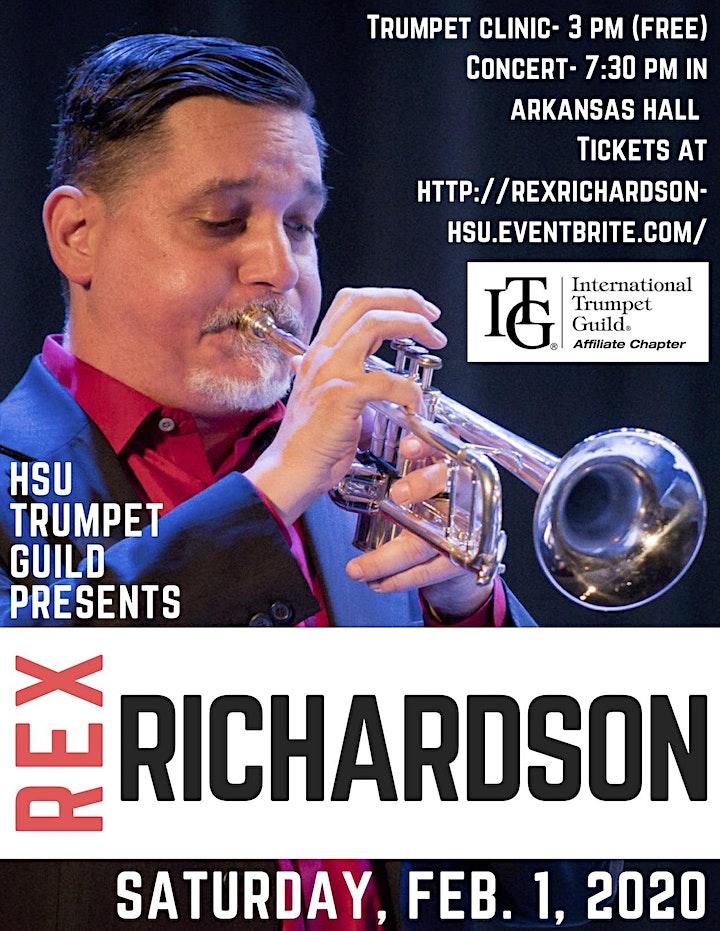 Trumpeter Rex Richardson and Big Band image