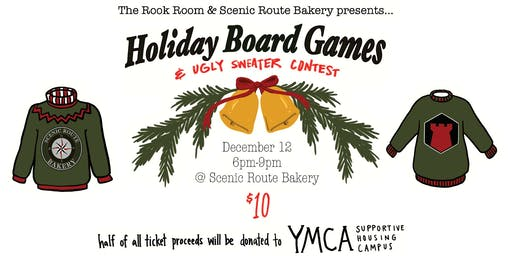 Holiday Board Game Wish List & Ugly Sweater Party