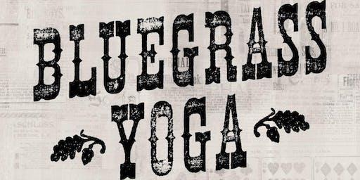 Bluegrass Yoga at Societe Brewing