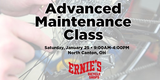 Advanced Maintenance Class - North Canton SOLD OUT