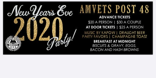 New Years Eve Party Couple tickets