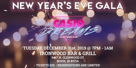 Casio Dreams NYE  Dance Party tickets
