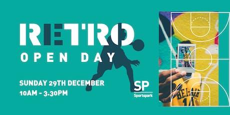 Sportspark Retro Open Day tickets