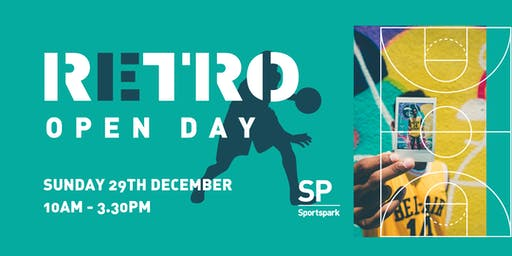 Sportspark Retro Open Day