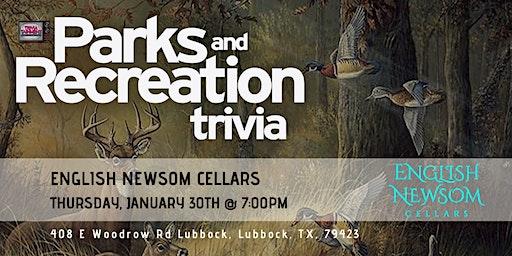 Parks & Rec Trivia at English Newsom Cellars