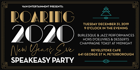Roaring 2020 New Years Eve Speakeasy Party tickets