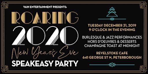Roaring 2020 New Years Eve Speakeasy Party