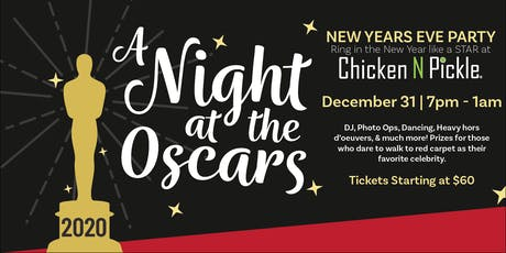 Night at the Oscars New Years Eve Party tickets