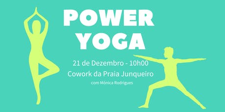 POWER YOGA bilhetes