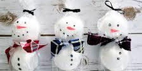 Snowman Bath Bombs tickets