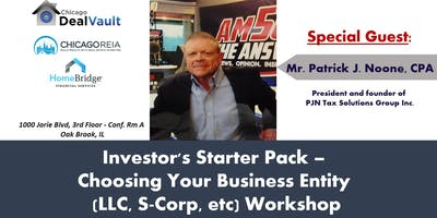 Your Starter Pack in Choosing Business Entities (LLC, S-Corp,etc.) Workshop