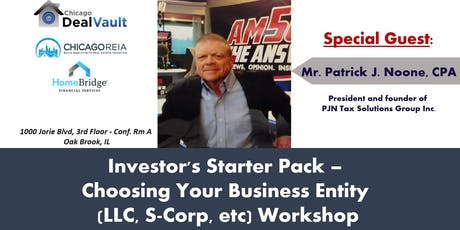 Your Starter Pack in Choosing Business Entities (LLC, S-Corp,etc.) Workshop tickets