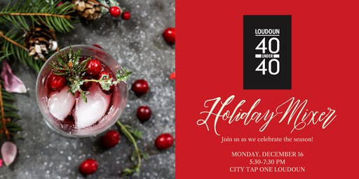 40 Under 40 Holiday Mixer