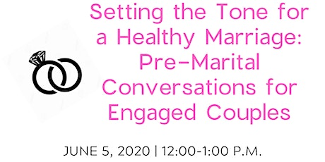 HRI Relationship Booster: Setting the Tone for a Healthy Marriage tickets