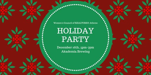Women's Council of REALTORS Athens Holiday Party