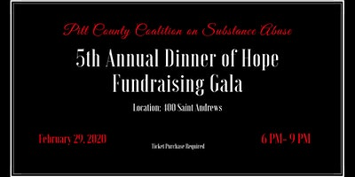 5th Annual Dinner of Hope Fundraising Gala