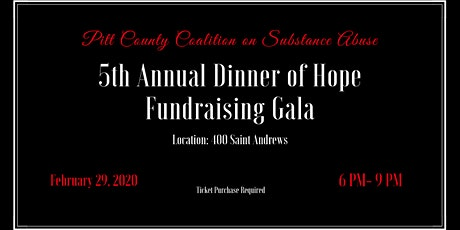 5th Annual Dinner of Hope Fundraising Gala tickets