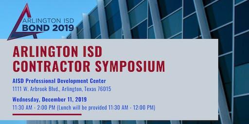 Arlington ISD Contractor Symposium