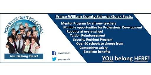 January 11, 2020: PWCS, Teacher Job Fair