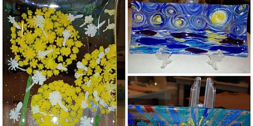 Half Day: Painting on Glass (January) with Kathy Oda