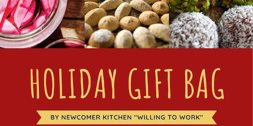 Newcomer Kitchen Holiday Gift Bag in Missisauga