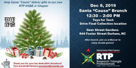 """NSBE Santa """"Cause"""" Brunch - Toys For Tech Drive (Collection) tickets"""