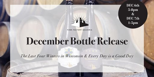 December 2019 Release- Four Winters & Every Day is a Good Day