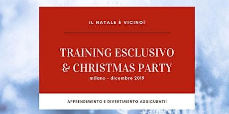 Training Esclusivo & Christmas Party biglietti