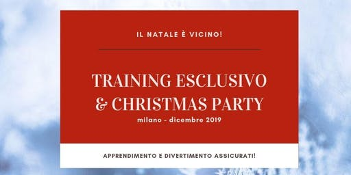 Training Esclusivo & Christmas Party