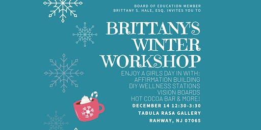 Brittany's Winter Workshop!