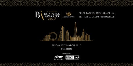 Islam Channel Business Awards 2020 tickets